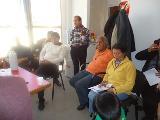 Reuni�n de Representante Ind�gena con Autoridades de Organismos de Gobierno de Bs As.