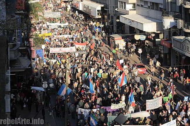 URUGUAY - 4ta. March...