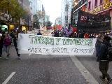 Im�genes I marcha x tierra y vivienda contra la c�rcel y la represi�n de De La Sota