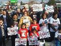Acto en Castelar a 16 meses de la masacre de Once