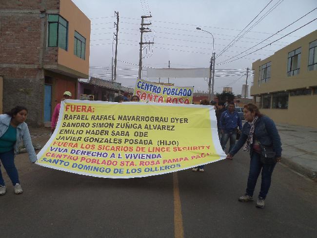 Perú: Por desalojo e...