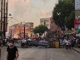 Los sindicatos convocan a huelga nacional en Turqu�a y siguen las barricadas