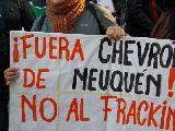 Marcha nacional simult�nea en contra de Chevron y del modelo de entrega, saqueo y contamin