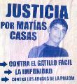 A un a�o del asesinato de Mat�as Casas