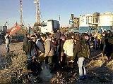 Comunidades Mapuche toman pozos petroleros en protesta por acuerdo Chevron-YPF