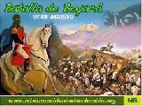 Colombia: Cronolog�a no publicitada de la batalla de Boyac�