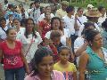 Quind�o gran marcha de solidaridad con el paro agrario