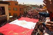 Per�: Tacna ciudad heroica: �luch� por la patria!