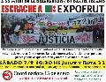 Escrache a Expofrut, a 22 meses de la desaparici�n de Daniel Solano