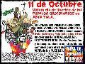 11 de Octubre �ltimo d�a de libertad de los Pueblos Originarios en Abya Yala