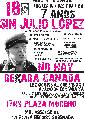 18/9 Marcha a 7 a�os sin Julio Lopez