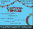 Festival popular en barrio Alvear!
