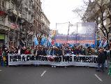 Basta de represi�n: Fuera Chevron de la Argentina