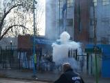 Paro en la provincia de Buenos Aires por la represi�n en Quilmes