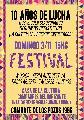 Festival 10 a�os de lucha! M�sica, feria y m�s / domingo 3 de noviembre