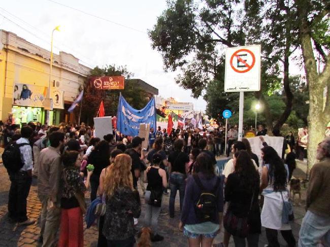 Marcha en Río Cuarto...