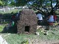 Avanza construcci�n de horno en huerta de la FOB 27
