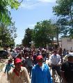 Abor�genes de Pampa del Indio amenazan con cortar la ruta 3