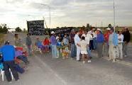 Formosa: Wichis resisten en corte de ruta
