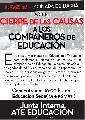 La Plata | Movilizaci�n por el cierre de las causas a trabajadorxs de la DGCyE