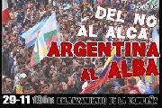 A 8 a�os del NO al ALCA, los movimientos populares decimos Argentina al ALBA
