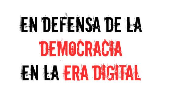 Resultado de imagen de En defensa de la democracia digital
