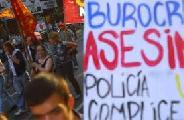 Patota del SOM golpea a trabajadores y estudiantes