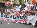 Jornada por los obreros petroleros de Las Heras: marcha en Ciudad de Buenos Aires