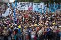 Miles de trabajadores/as cooperativistas reclamaron aumento salarial
