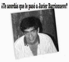 Javier Barrionuevo. ...
