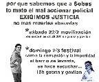 Festival por el asesinato impune de Sebasti�n Bettinotti / domingo 2 de marzo