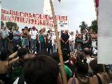 Petroleros de Las Heras: Trabajadores de todo el pa�s exigieron su absoluci�n