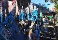 La CTA, la Multisectorial y la Coordinadora Sindical Clasista marcharon a Plaza de Mayo