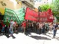 Ter�s: �Las calles son de los trabajadores y el pueblo�