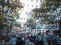 A 38 a�os del golpe c�vico-militar, multitudinaria manifestaci�n en Plaza de Mayo