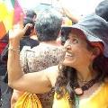 El perfil bolivariano de la chilena que muri� en Venezuela luchando contra las barricadas