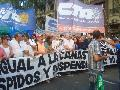 Movilizaci�n a Plaza de Mayo contra el ajuste