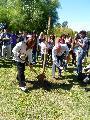 24/03/14 - BOSQUE DE LA MEMORIA - ROSARIO - Plantaci�n de �rboles ... recordatorio ...