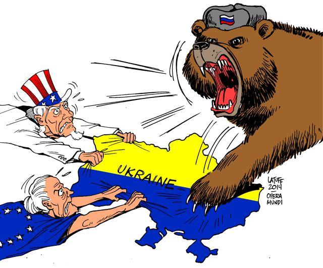 Ucrania en el juego ...