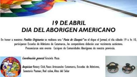 Catamarca Posta Por El Dia Del Aborigen Americano Argentina Indymedia I
