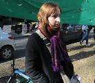Marina Dest�fani declar� en el segundo juicio a V�ctor Brusa
