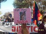 A casi 4 a�os de su asesinato, contin�a el pedido de justicia por Esperanza Nieva