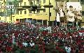 Venezuela: Multitudinaria marcha en Caracas por el D�a del trabajador... y la otra