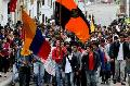 Estudiantes en Tunja salieron a marchar en solidaridad con los campesinos