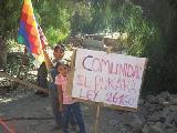 Comunidad aborigen El Pukara de Tilcara, resiste desalojo en Jujuy