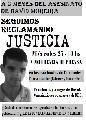 �Justicia por David Moreira! - Conferencia de prensa