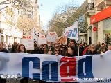 Marcha en defensa de la universidad p�blica, por salarios dignos