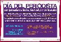 Jornada de lucha, m�sica y movilizaci�n por el D�a del Periodista