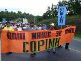 Pueblos originarios contin�an protestas por sus derechos en Honduras