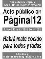 Acto por salarios dignos en P�gina/12